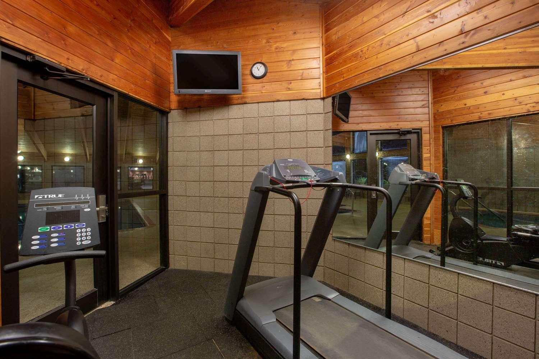 Fitness/ Exercise Room - AmericInn Lodge & Suites Muscatine