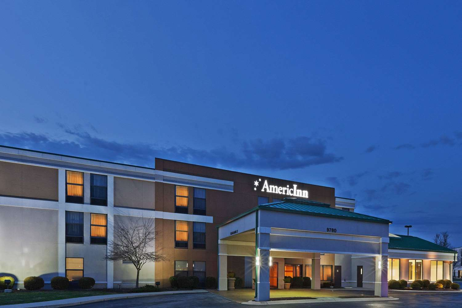 Exterior view - AmericInn Hotel & Suites Fishers