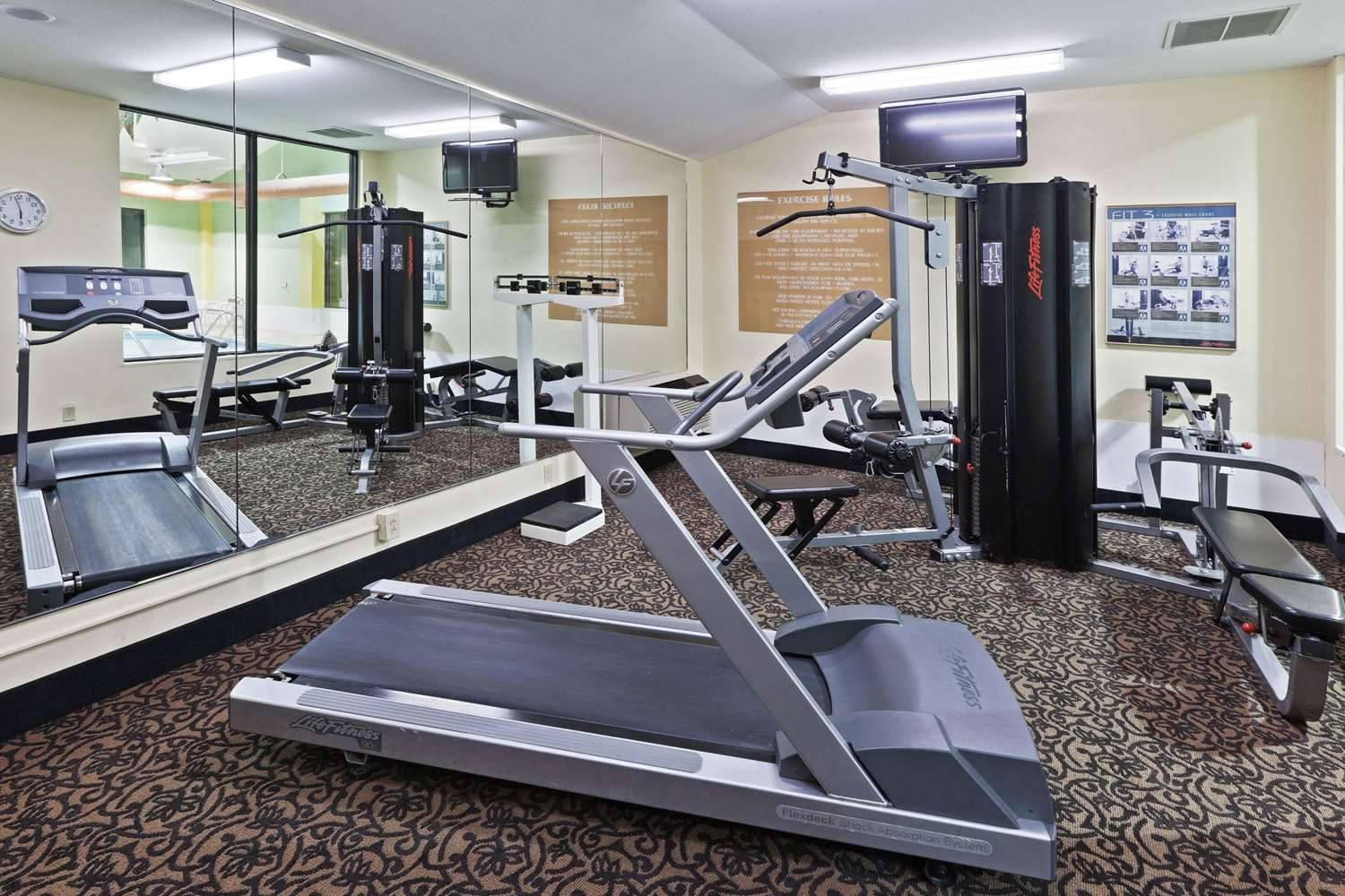 Fitness/ Exercise Room - AmericInn Hotel & Suites Fishers