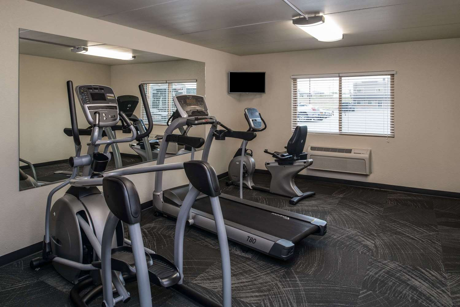 Fitness/ Exercise Room - AmericInn Belle Fourche