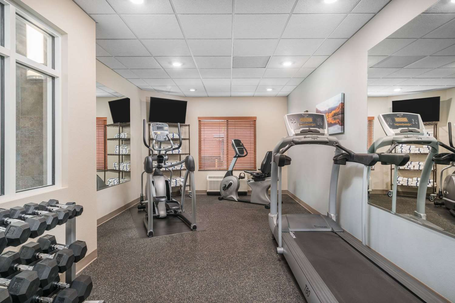Fitness/ Exercise Room - AmericInn Hotel & Suites Winona