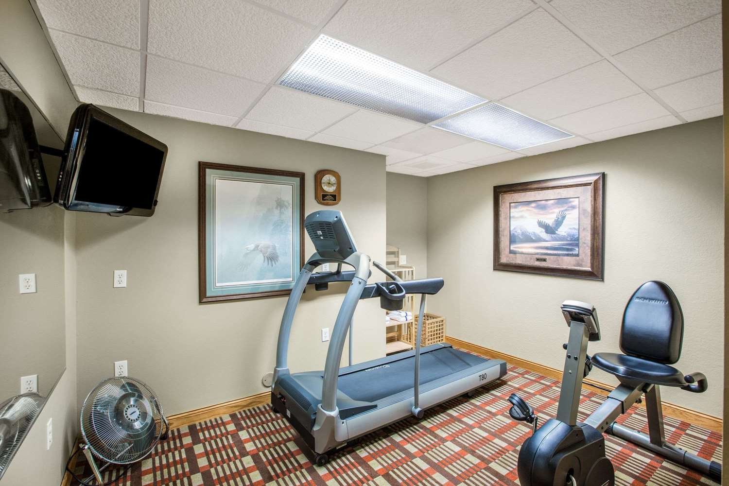 Fitness/ Exercise Room - AmericInn Pequot Lakes