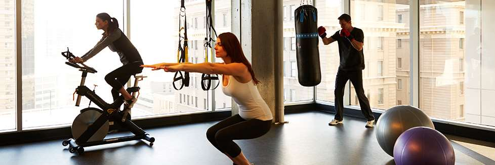 Fitness/ Exercise Room - Le Germain Hotel Downtown Ottawa