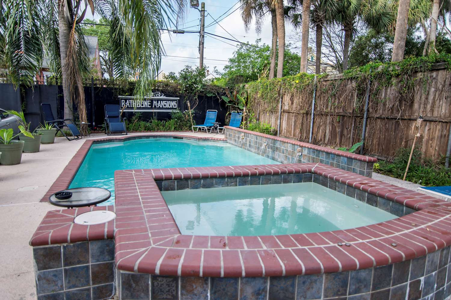 Pool - Rathbone Mansions near French Quarter New Orleans