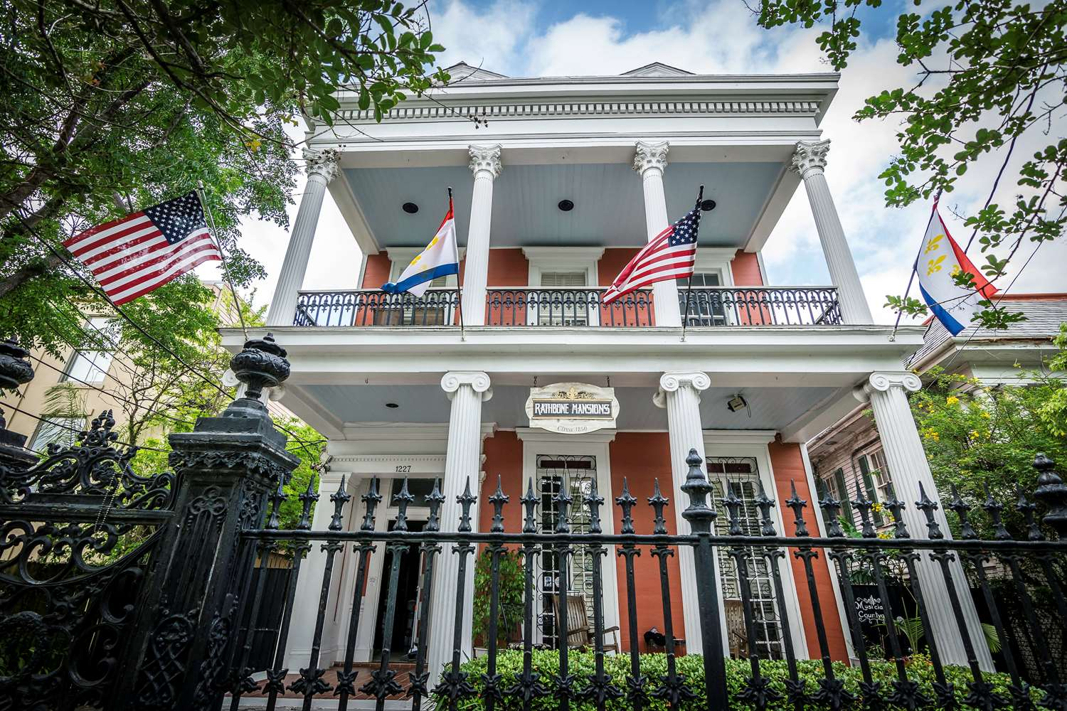 Exterior view - Rathbone Mansions near French Quarter New Orleans