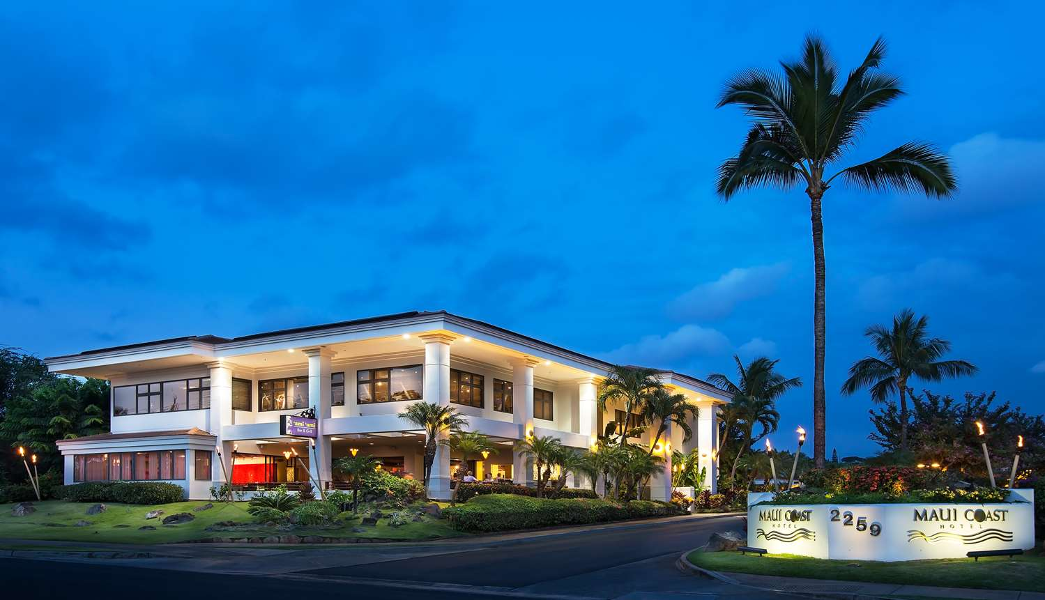 Exterior View Maui Coast Hotel Kihei
