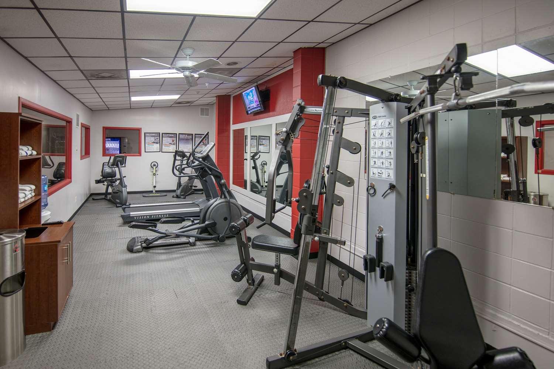 Fitness/ Exercise Room - Ramada Inn Cedar Rapids