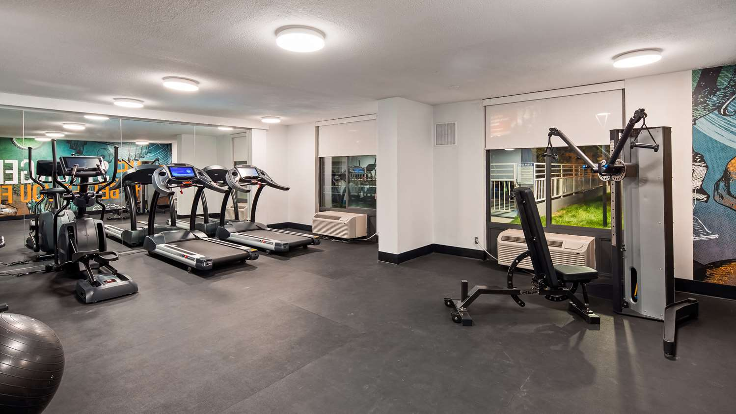 Fitness/ Exercise Room - Best Western Plus Executive Residency Denver Stapleton Hotel