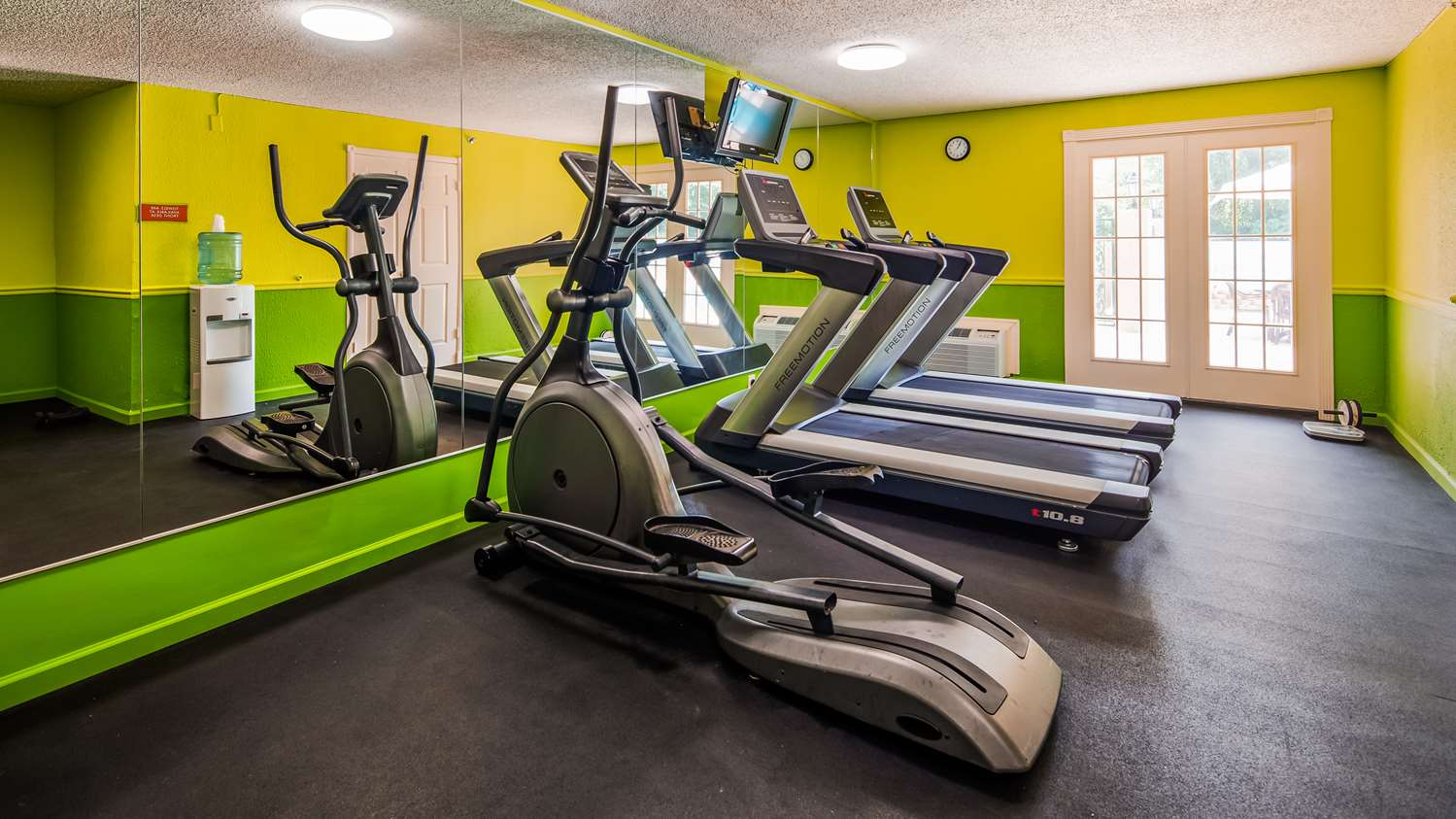 Fitness/ Exercise Room - SureStay Plus Hotel by Best Western Baton Rouge