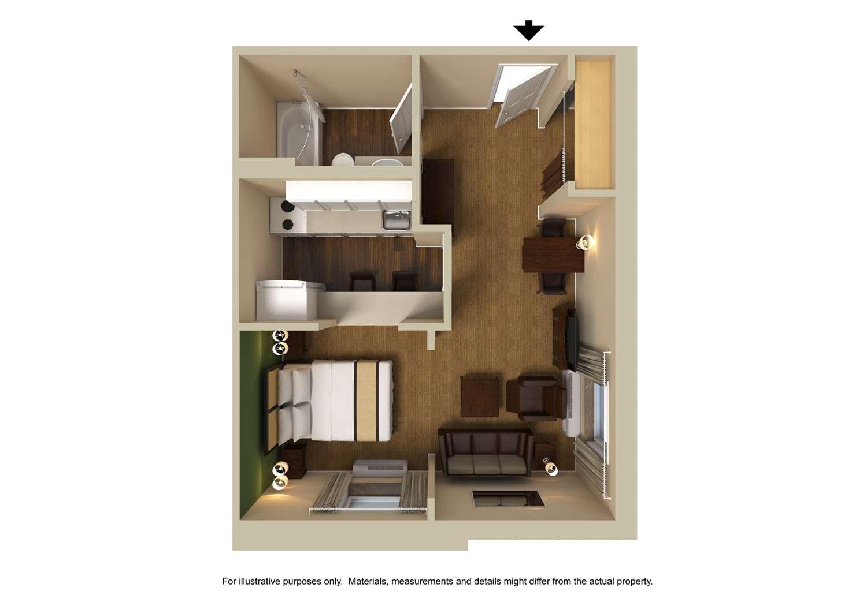 Room - Extended Stay America Hotel Hurstbourne Jeffersontown