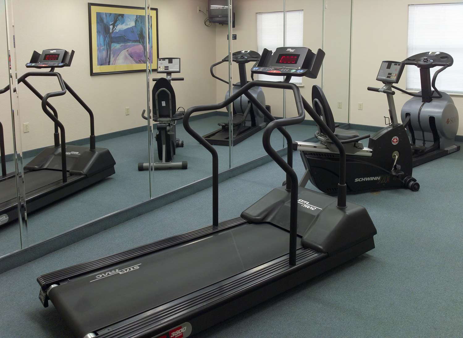 Fitness/ Exercise Room - Extended Stay America Hotel East Evansville