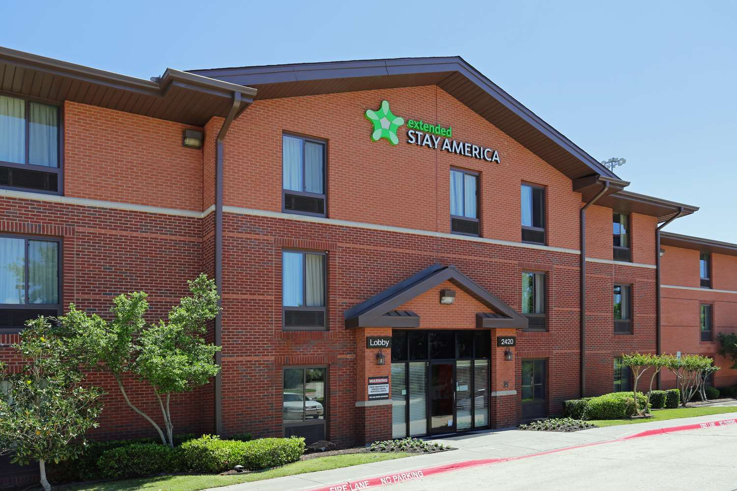 Exterior View Extended Stay America Hotel Six Flags Arlington
