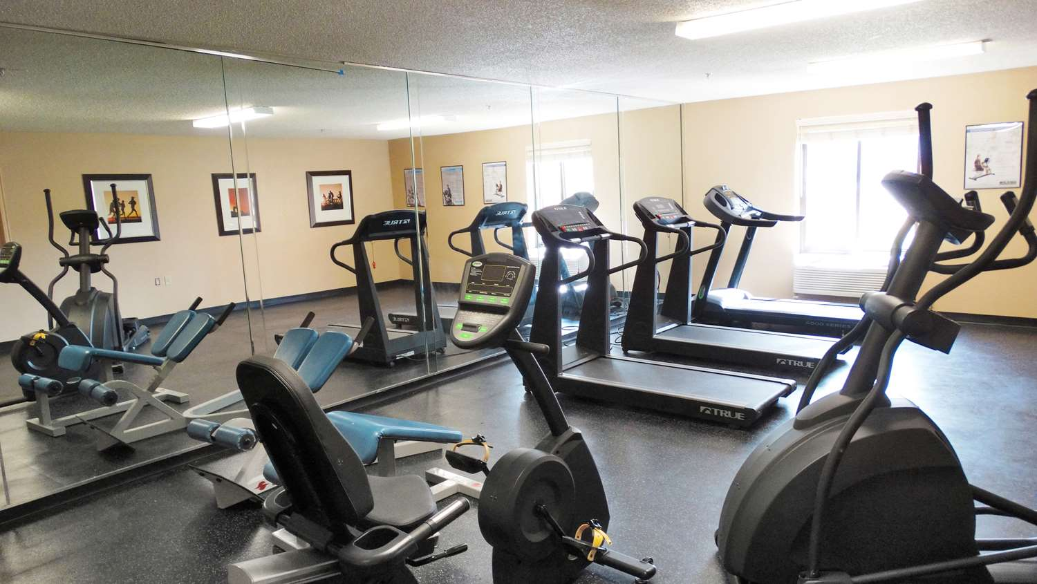 Fitness/ Exercise Room - Extended Stay America Hotel Six Flags Arlington