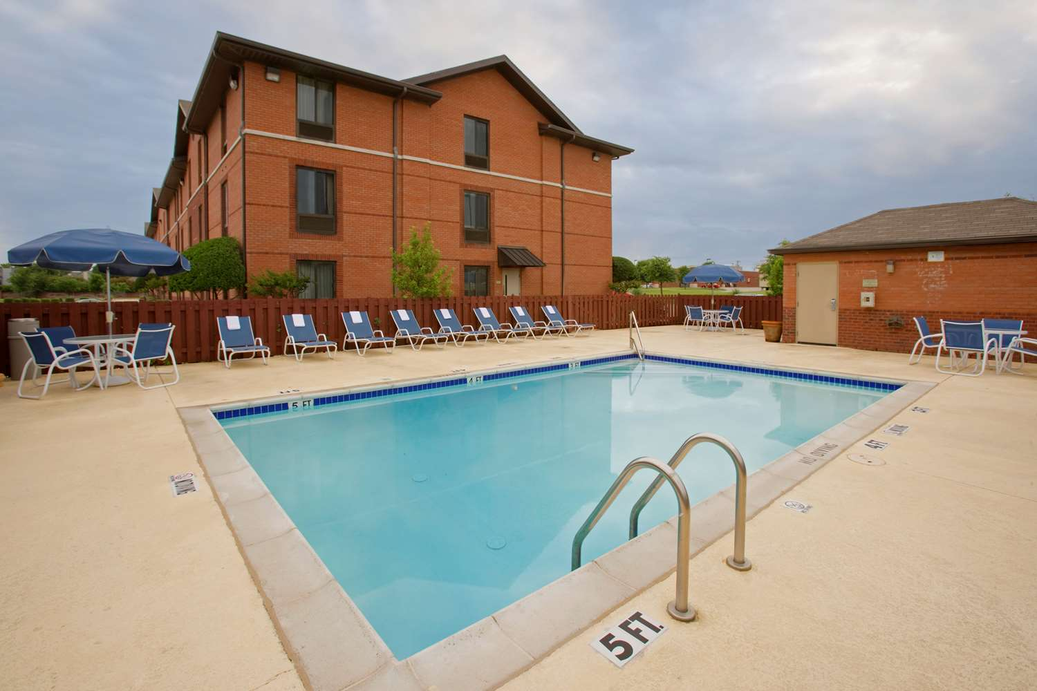 Pool - Extended Stay America Hotel North Macon