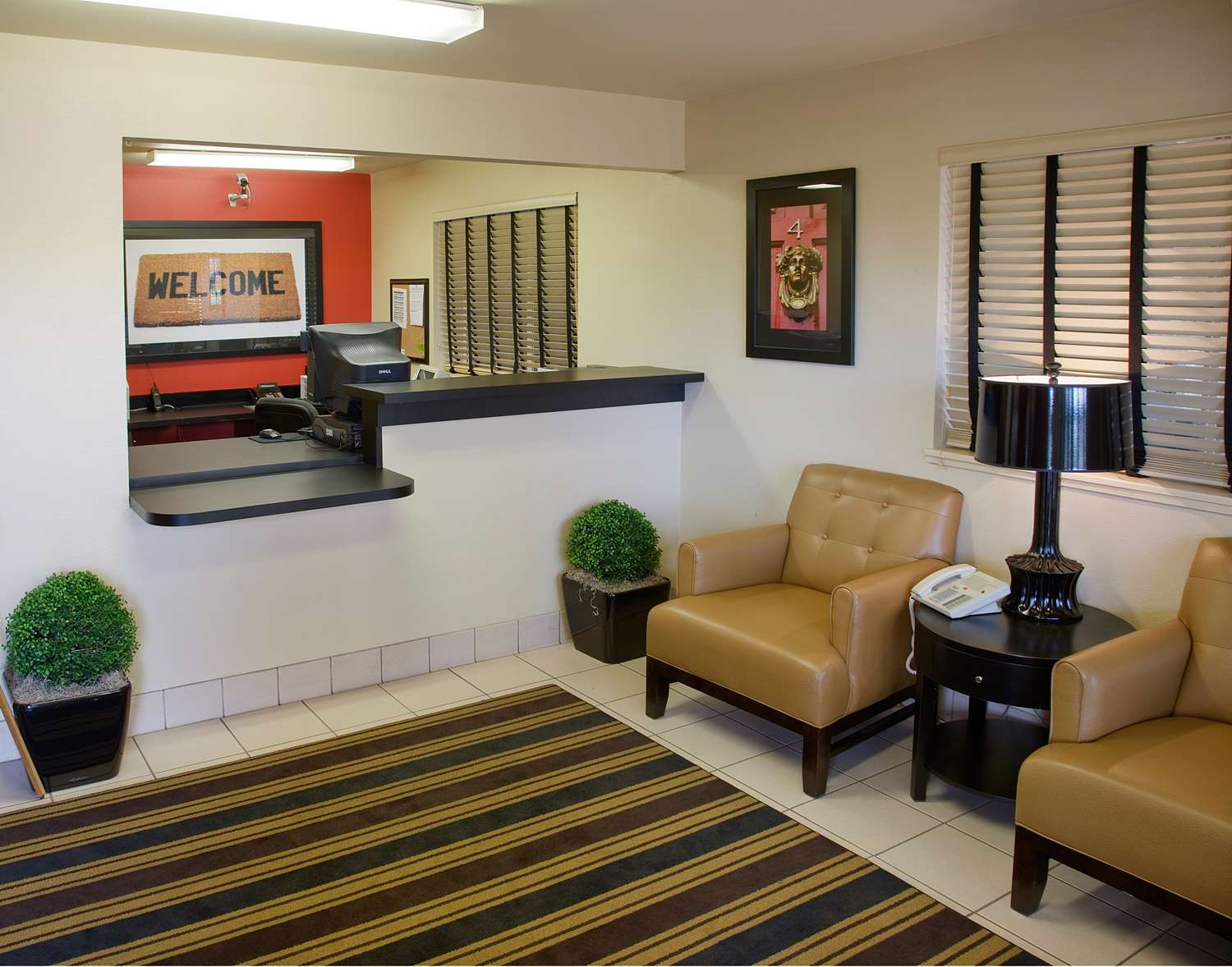 Lobby - Extended Stay America Hotel Newport News