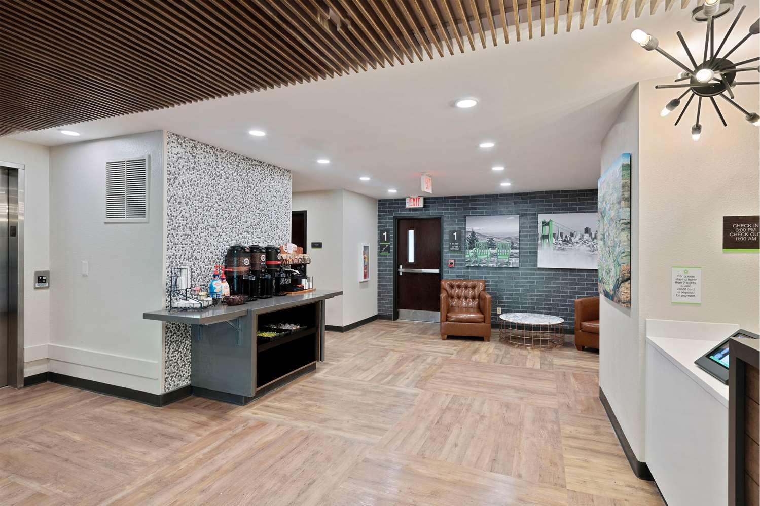 Lobby - Extended Stay America Hotel Tyvola Charlotte