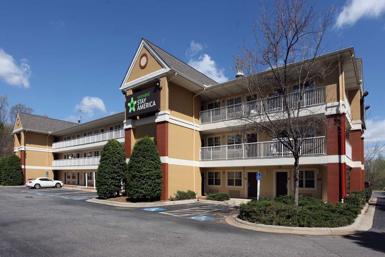 Exterior view - Extended Stay America Hotel Greensboro