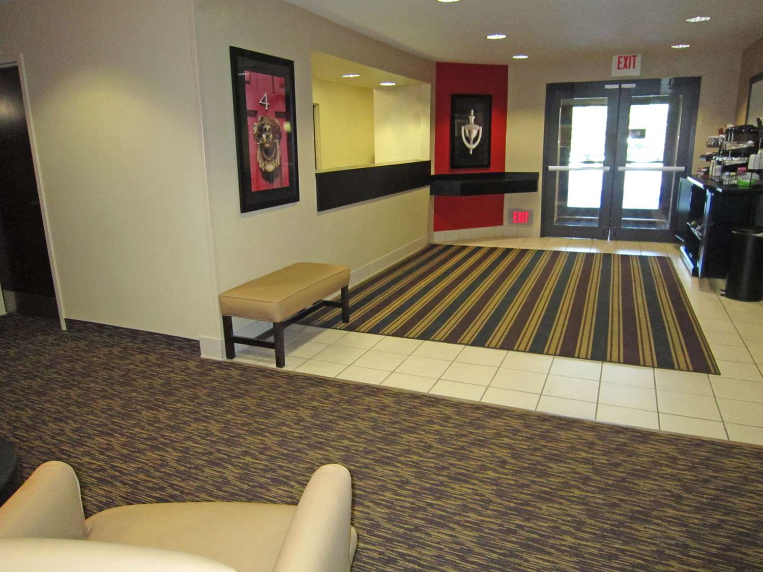 Lobby - Extended Stay America Hotel Airport Clearwater