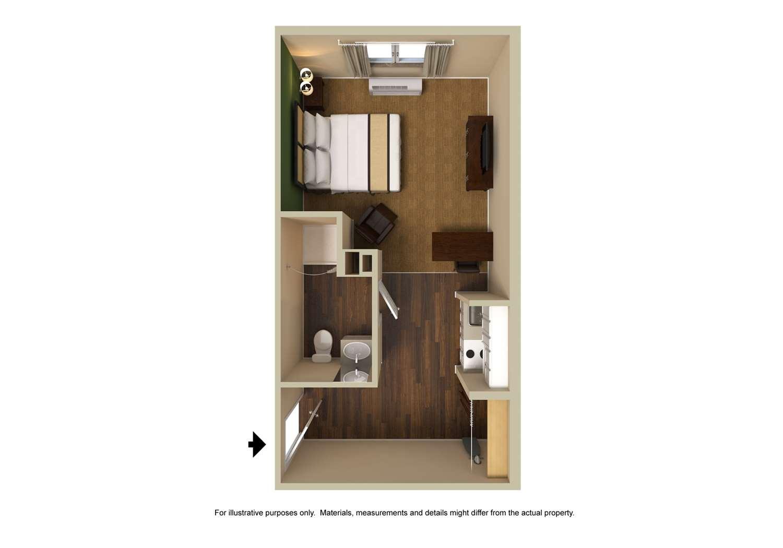 Room - Extended Stay America Hotel Gardena