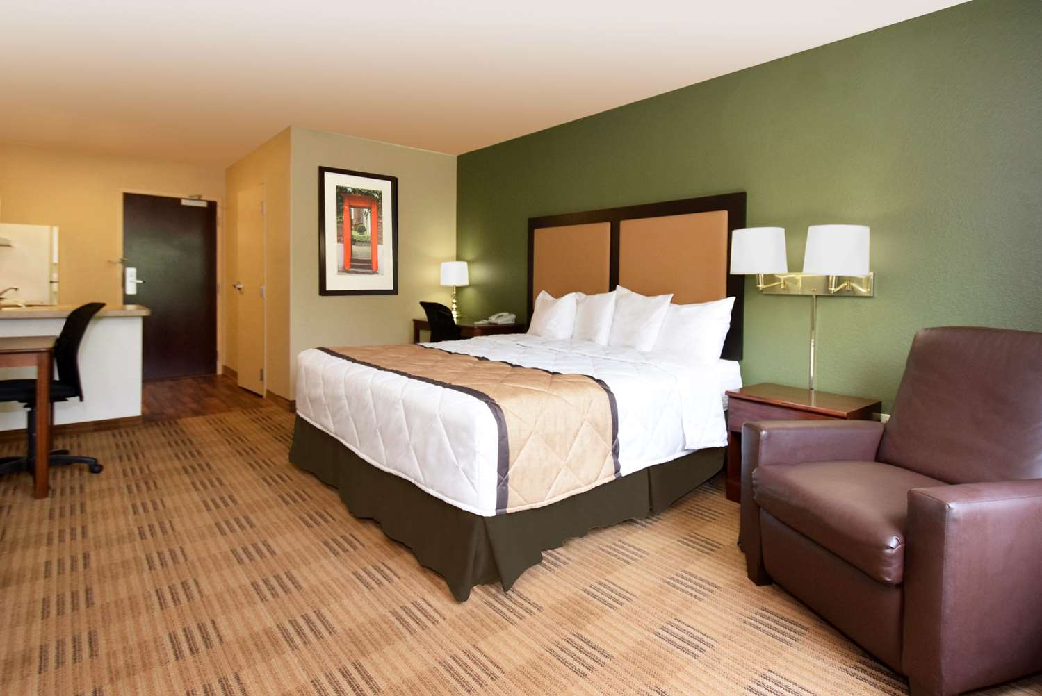 Room - Extended Stay America Hotel Carnegie
