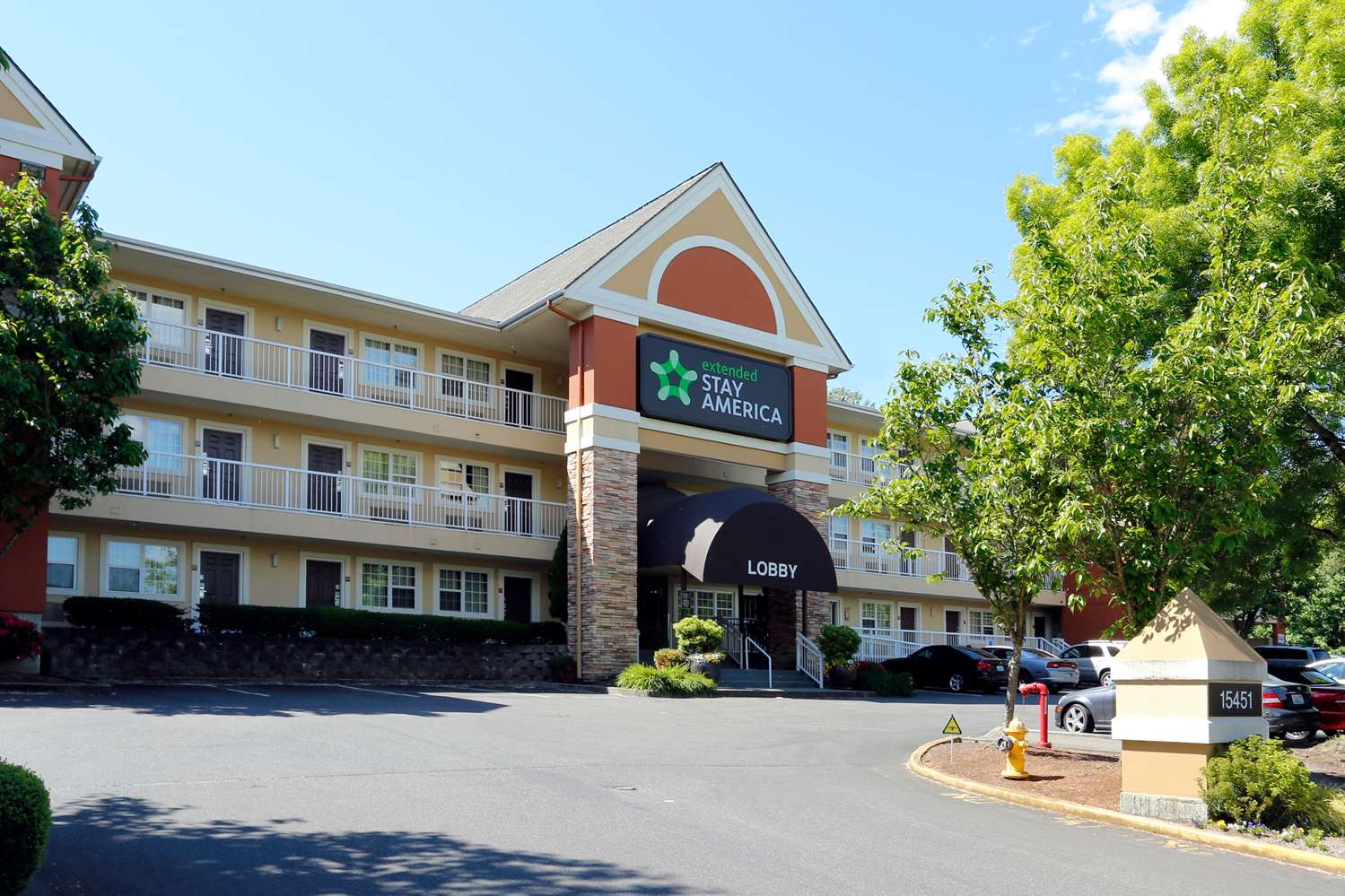 Exterior view - Extended Stay America Hotel Tukwila