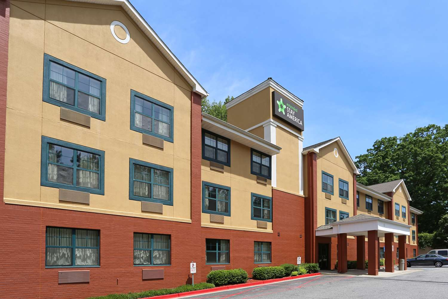 Exterior view - Extended Stay America Hotel Rock Mill Road Alpharetta