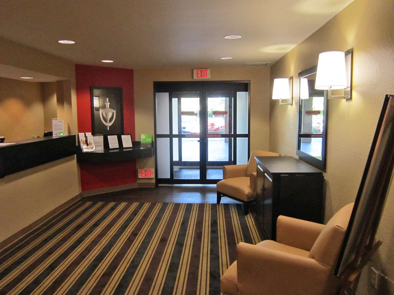Lobby - Extended Stay America Hotel Cruiseport Fort Lauderdale