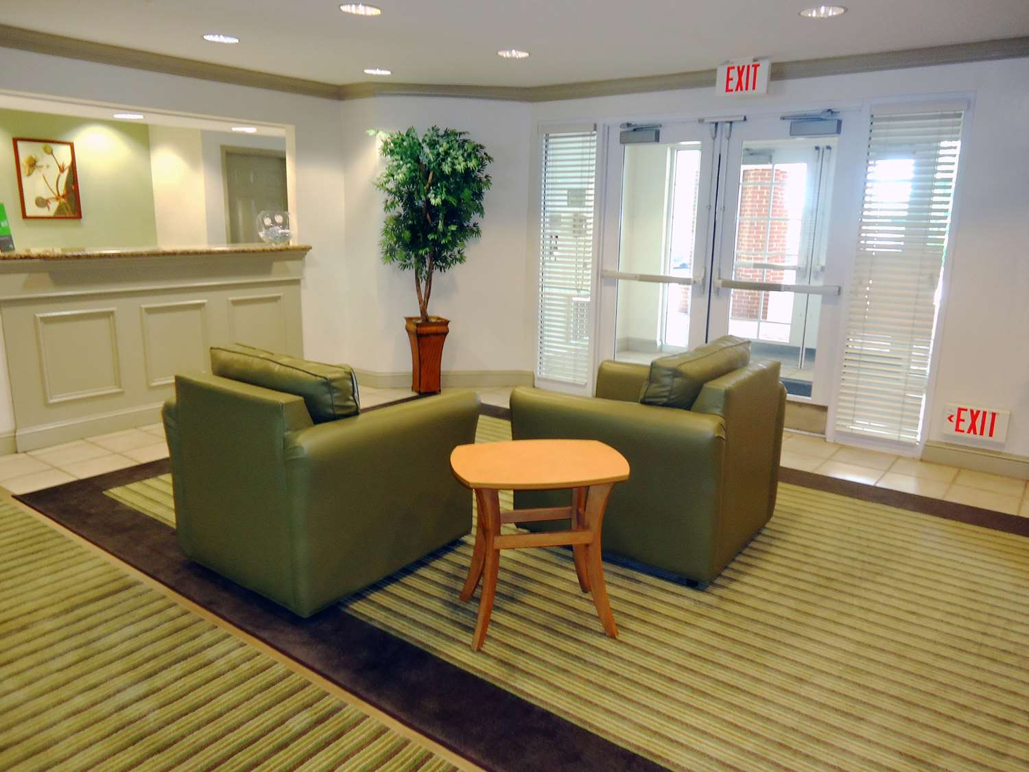 Lobby - Extended Stay America Hotel Airport Greensboro