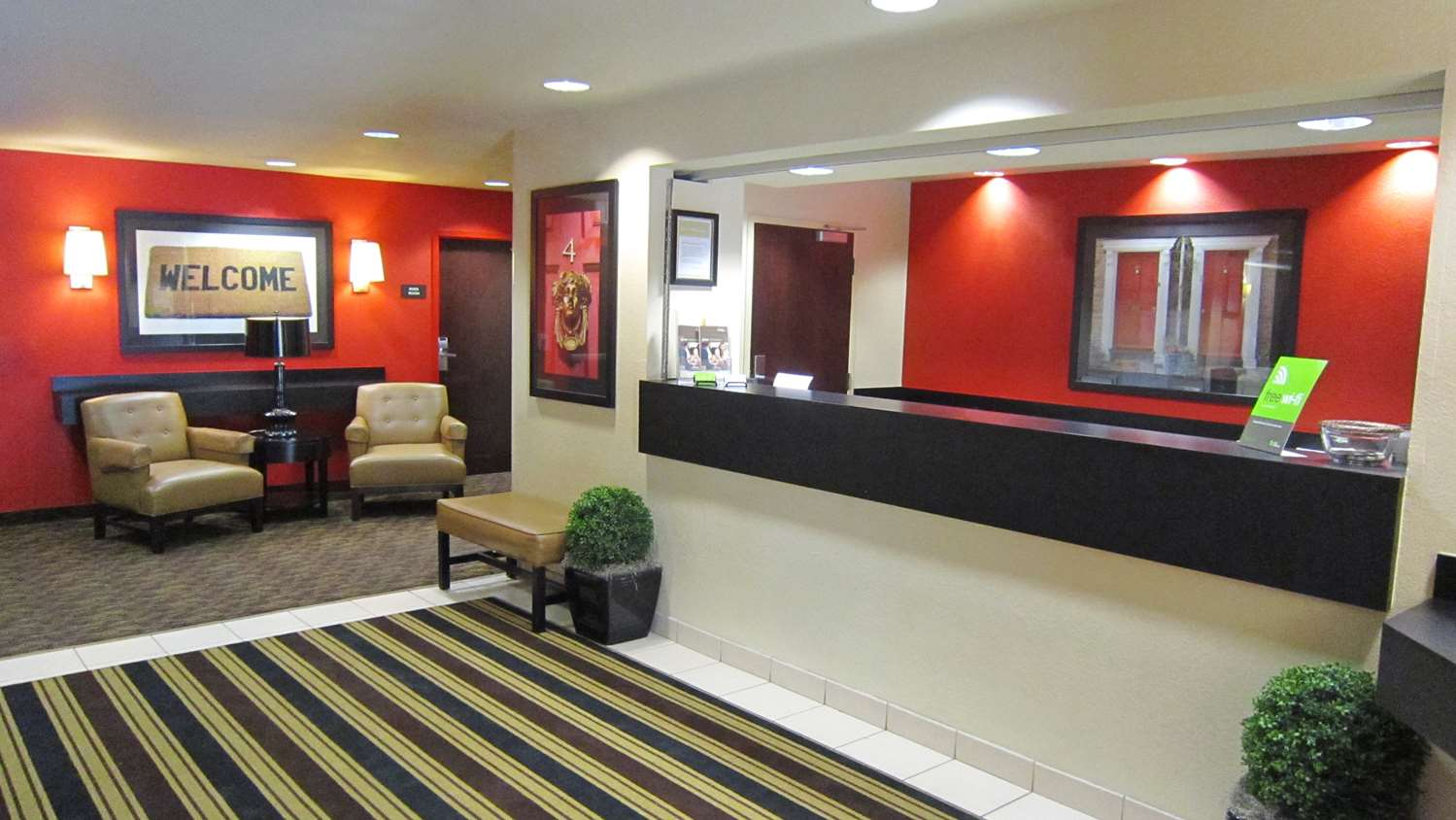 Lobby - Extended Stay America Hotel 1036 Greenwood Blvd