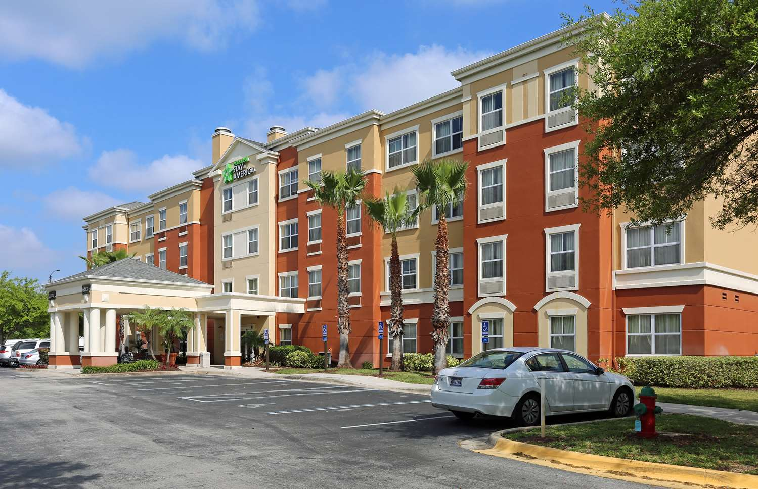 Exterior view - Extended Stay America Hotel 6443 Westwood Blvd Orlando