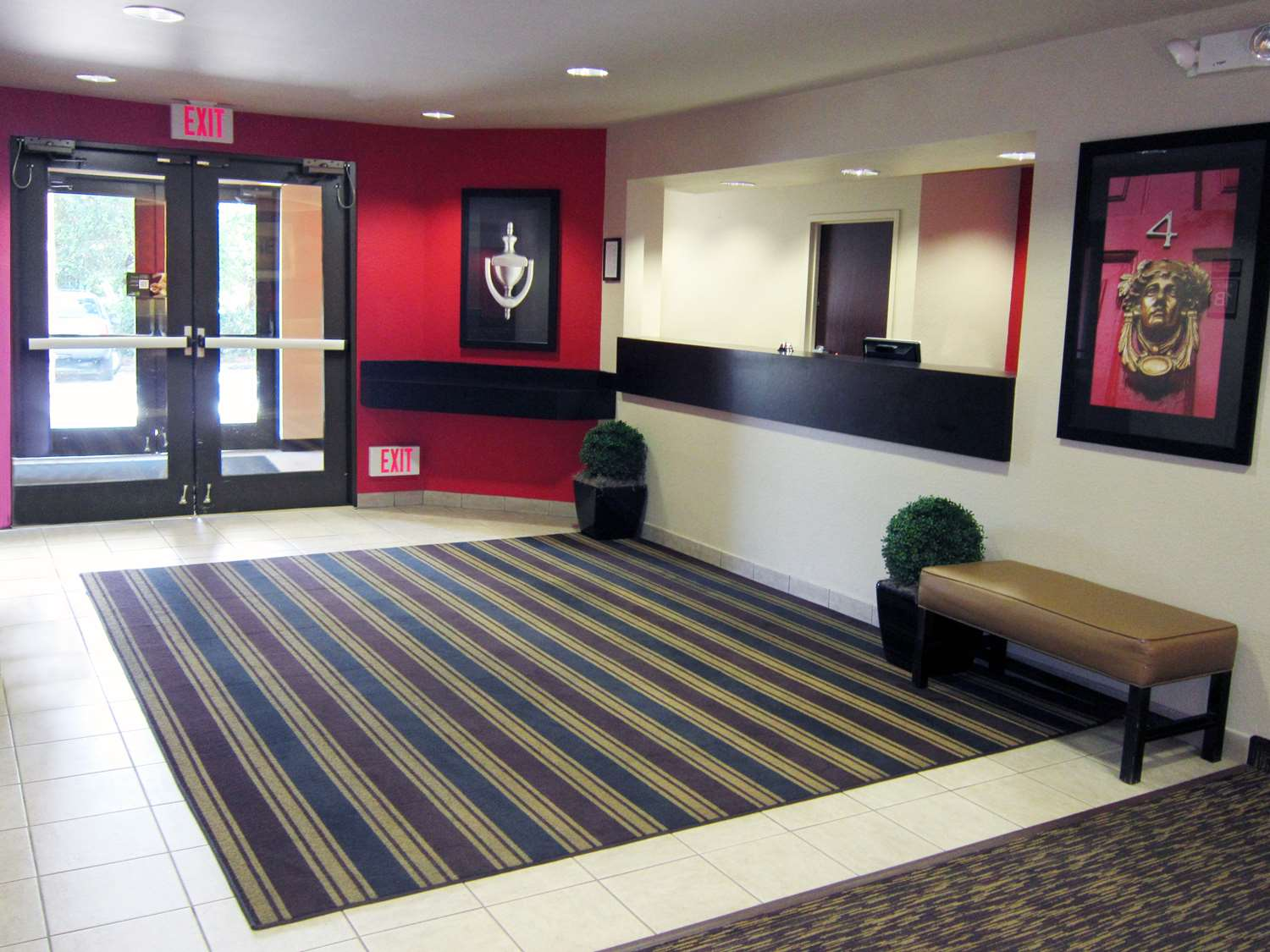 Lobby - Extended Stay America Hotel Spruce Street Airport Tampa