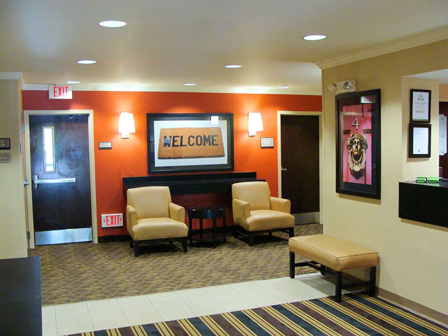 Lobby - Extended Stay America Hotel Newark Airport Elizabeth