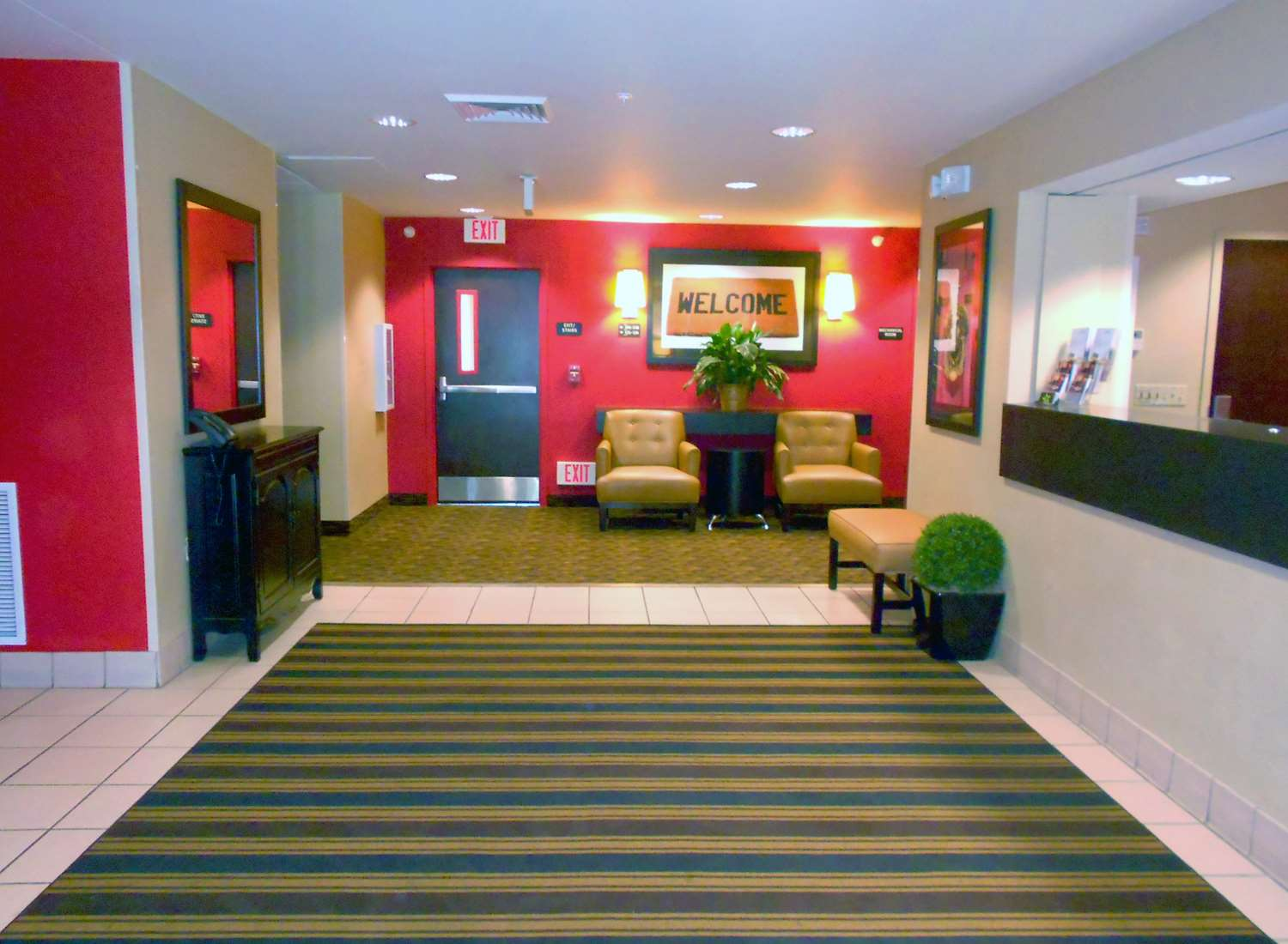Lobby - Extended Stay America Hotel Champaign