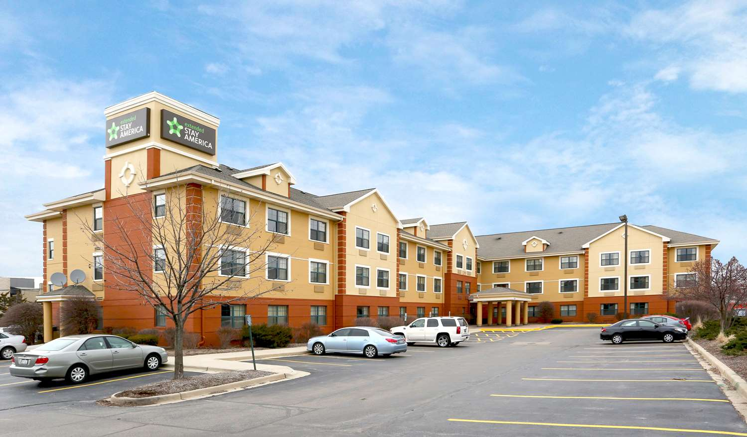 Exterior view - Extended Stay America Hotel Woodfield Mall Schaumburg