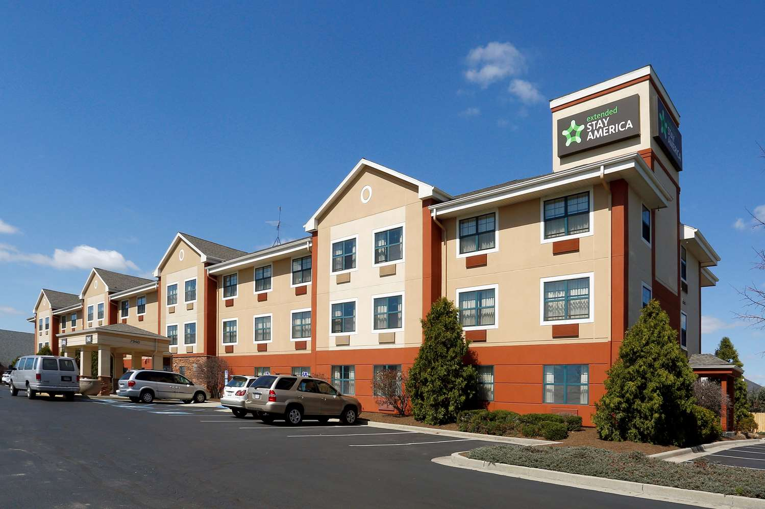 Exterior view - Extended Stay America Hotel Castleton Indianapolis