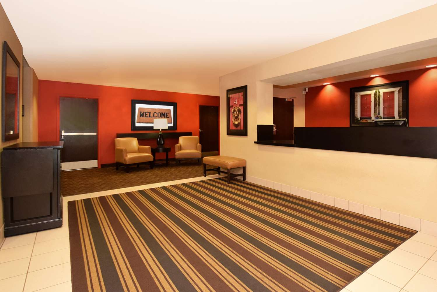 Lobby - Extended Stay America Hotel Castleton Indianapolis