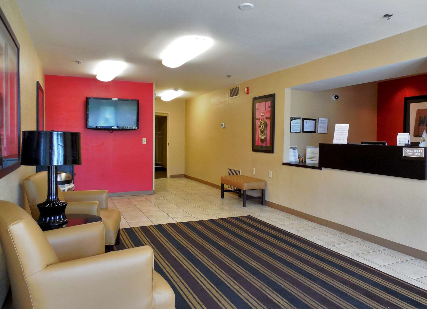 Lobby - Extended Stay America Hotel Yorktown Center Lombard
