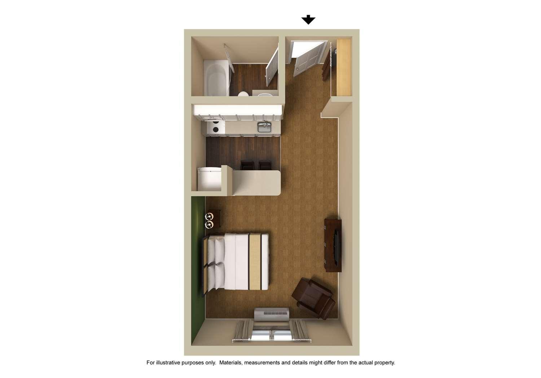 Room - Extended Stay America Hotel Hanover Park