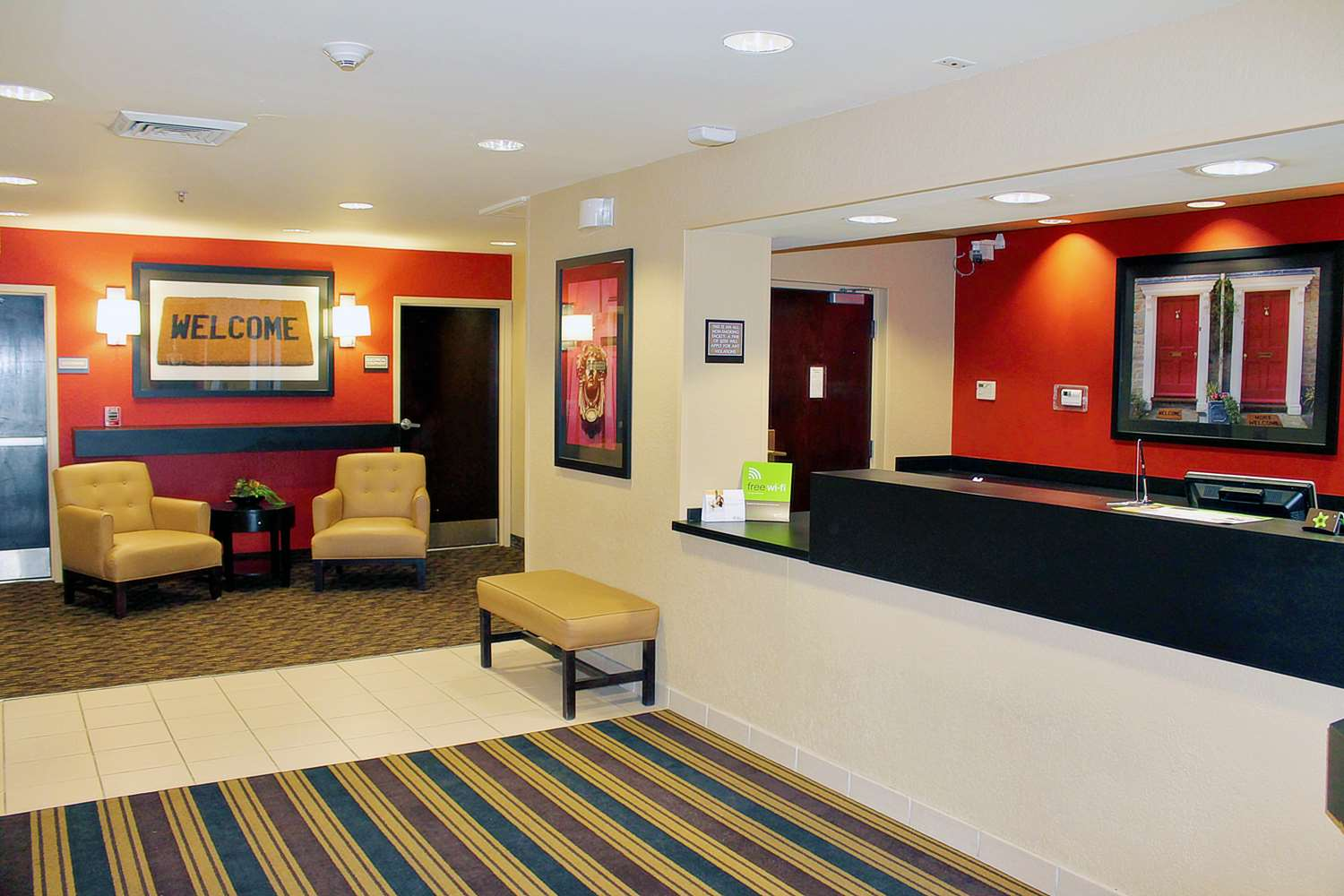 Lobby - Extended Stay America Hotel Galleria Houston