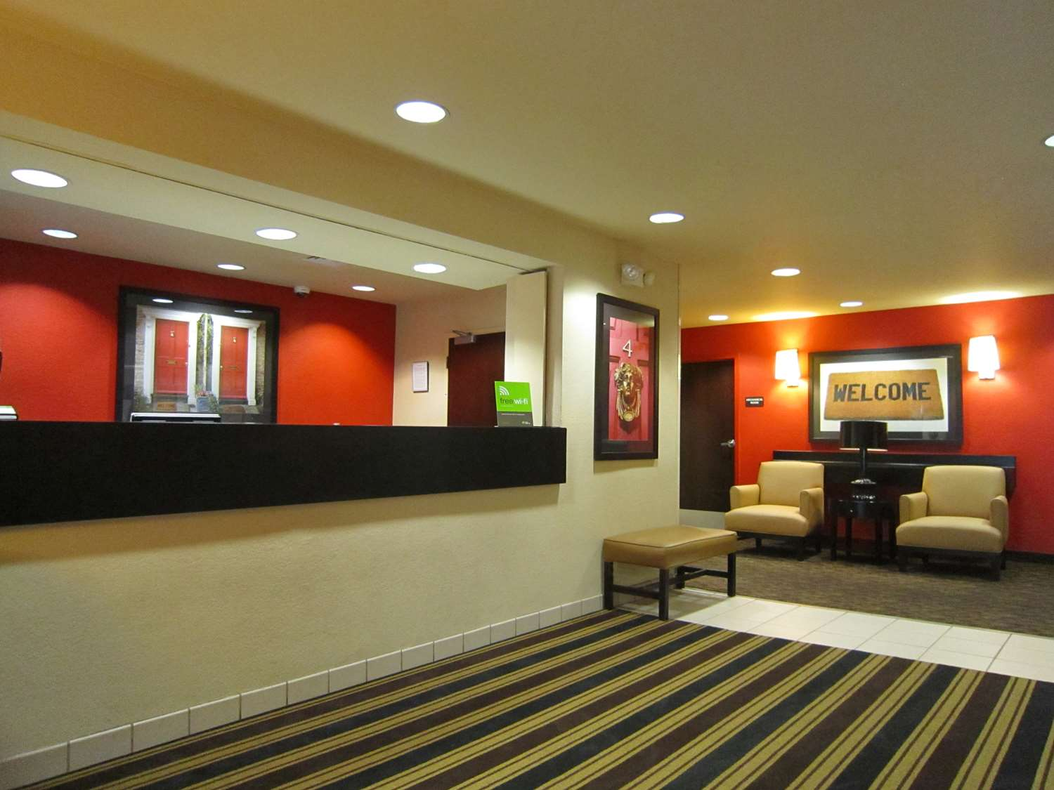 Lobby - Extended Stay America Hotel Kenner