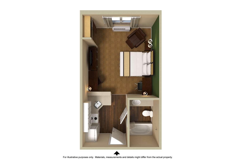 Room - Extended Stay America Hotel Laredo