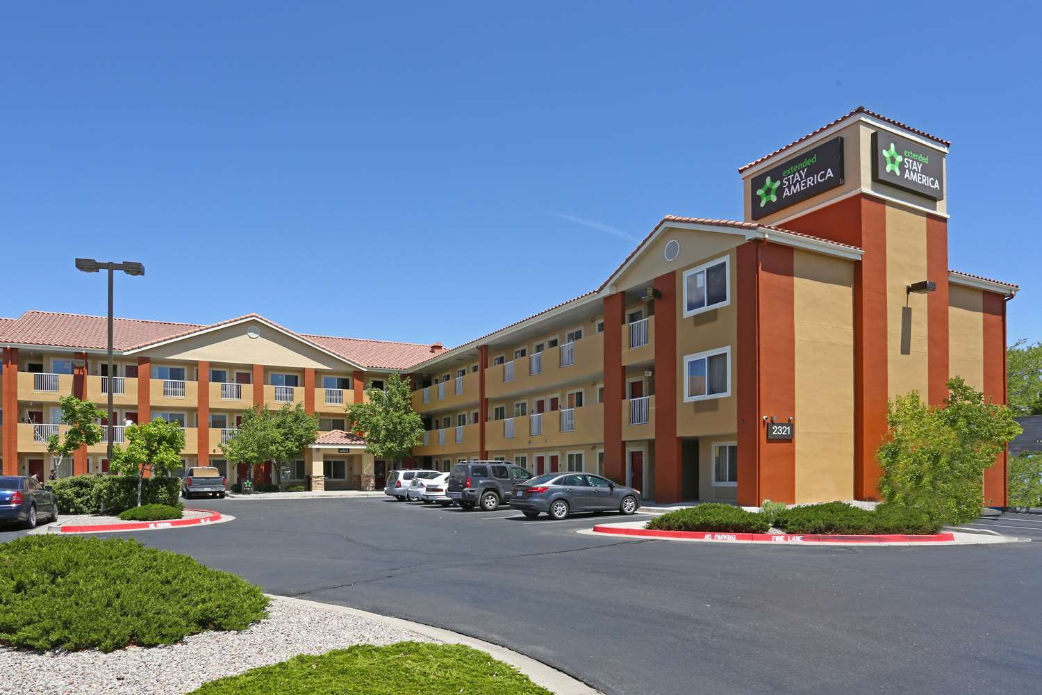 Exterior view - Extended Stay America Hotel Airport Albuquerque
