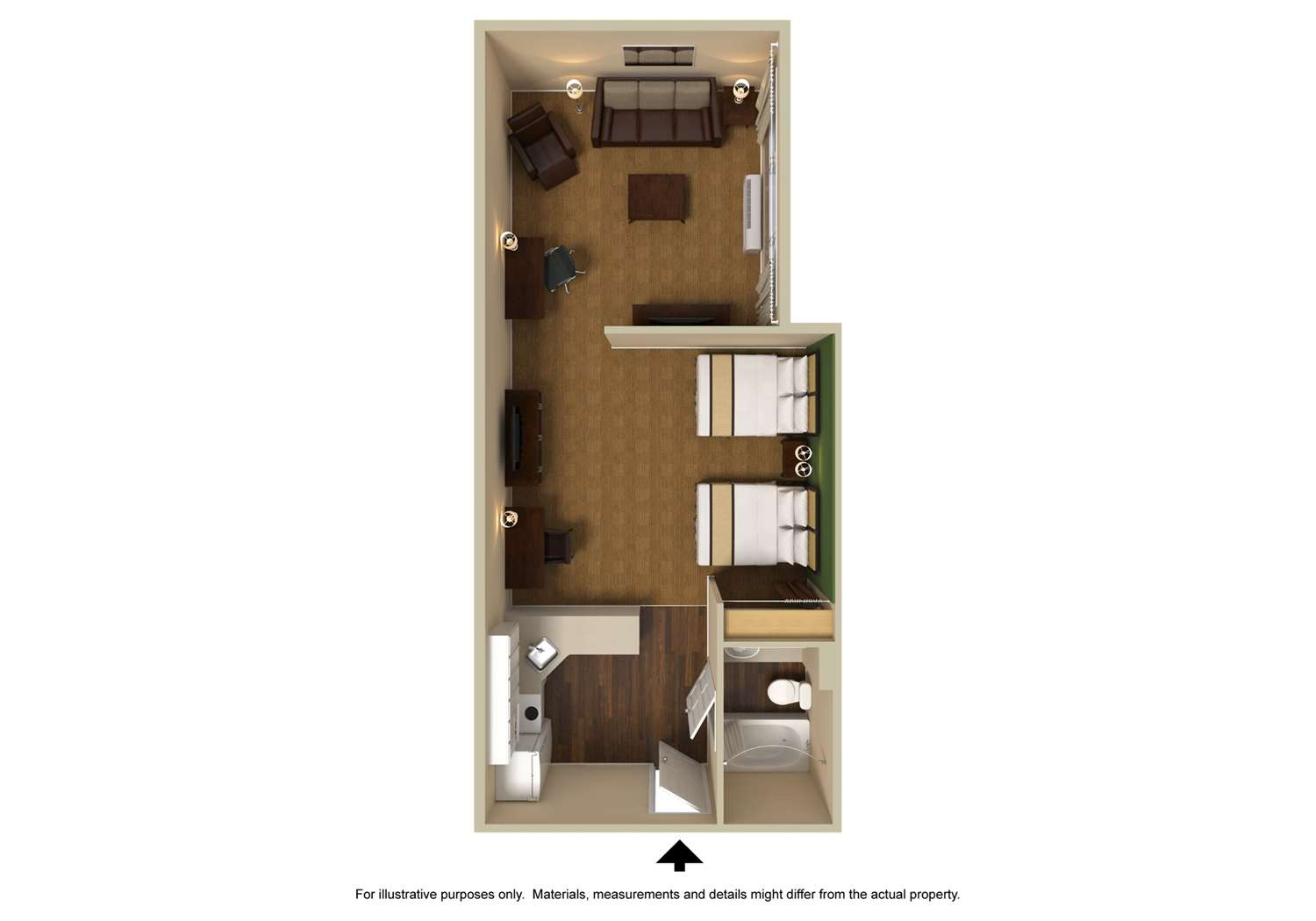 Room - Extended Stay America Hotel Reno