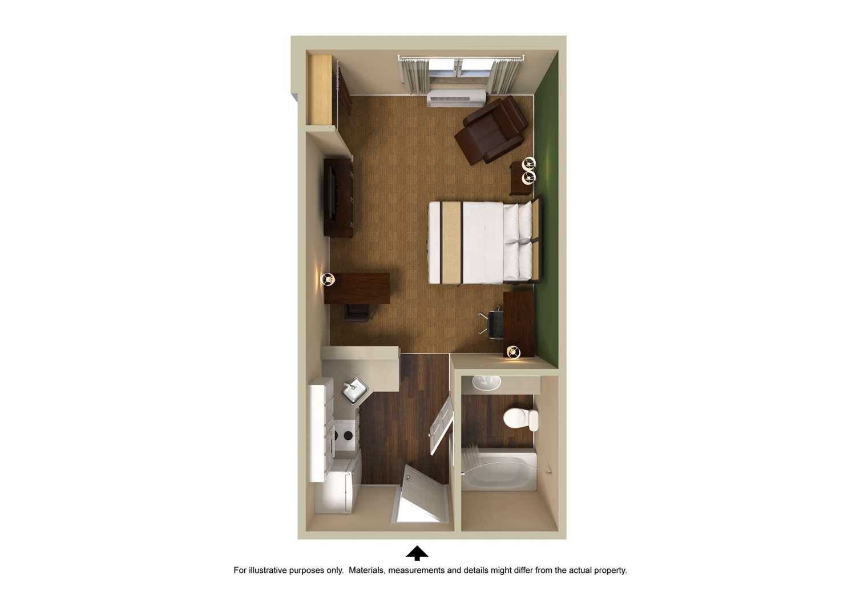 Room - Extended Stay America Hotel North Santa Rosa