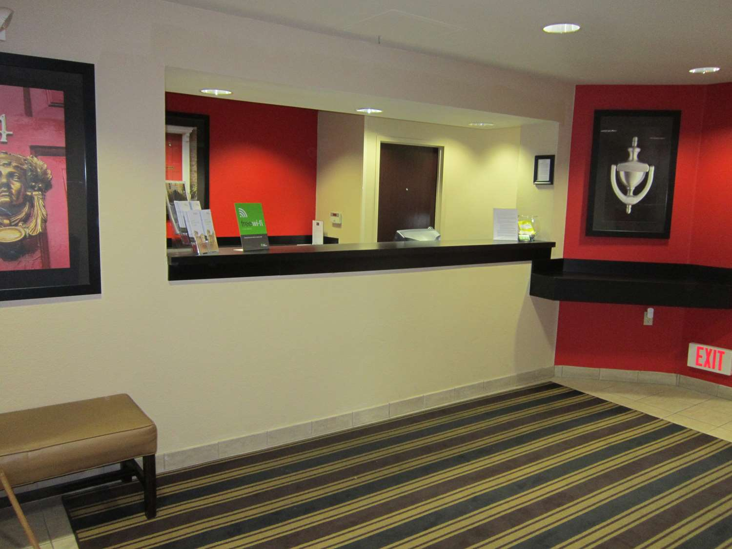 Lobby - Extended Stay America Hotel Tracy