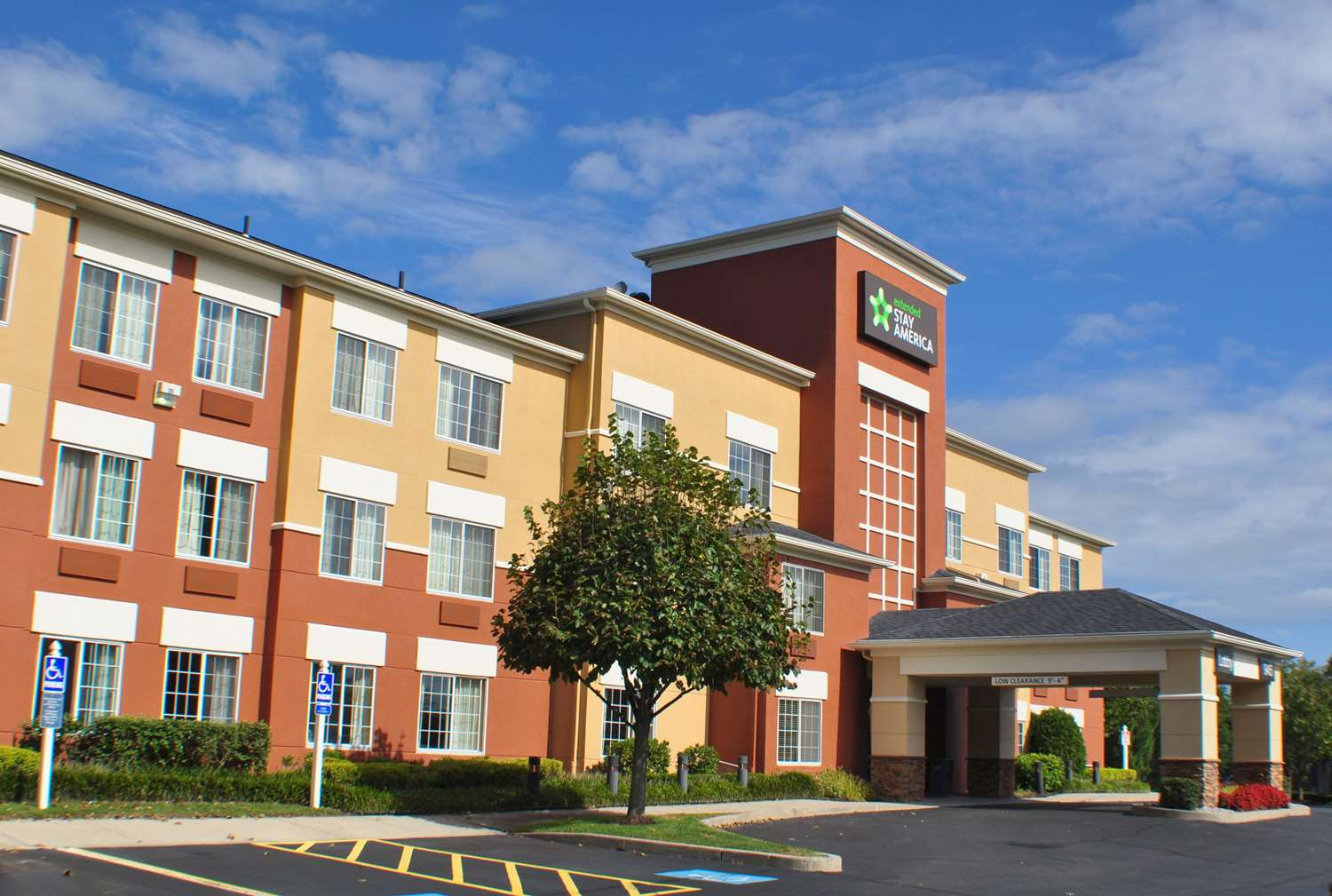 Exterior View Extended Stay America Hotel Shelton