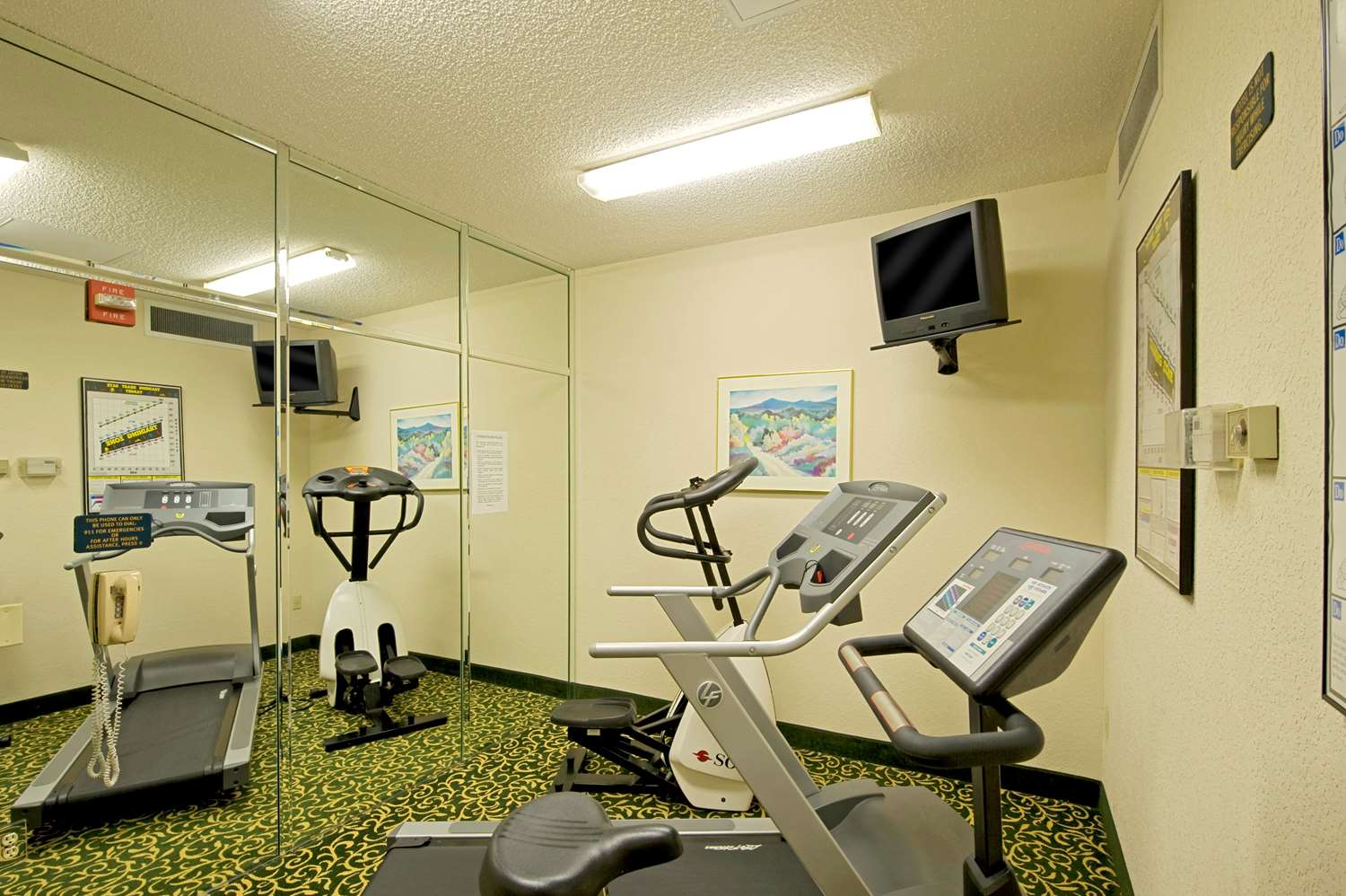 Fitness/ Exercise Room - Extended Stay America Hotel Admiral Chochrane Annapolis