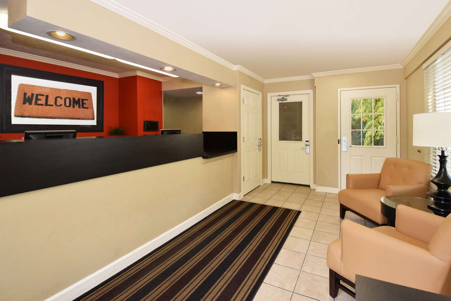 Lobby - Extended Stay America Hotel Wake Forest Road Raleigh