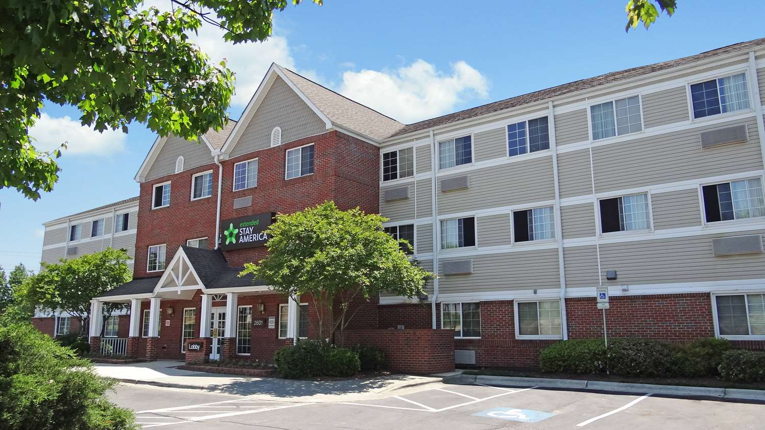 Exterior view - Extended Stay America Hotel Northeast Raleigh