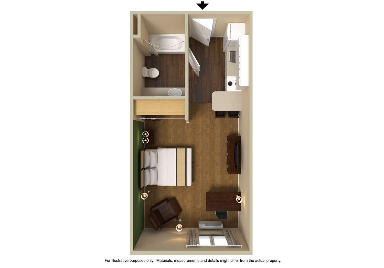 Room - Extended Stay America Hotel Poplar Avenue Memphis